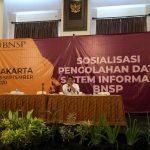 Sosialisasi Pengolahan Data Sistem Informasi BNSP (Hotel ROYAL )